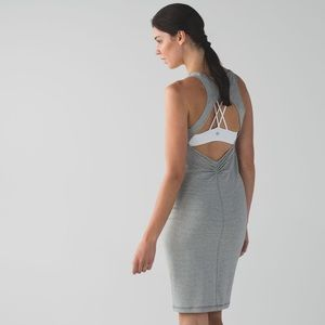 NWT Lululemon Go For It Dress size 4 grey